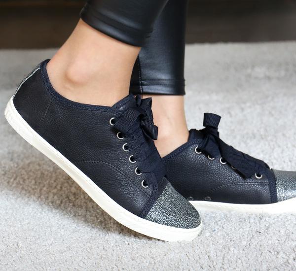SKBSL1 PALM H14 <br> Velor女士运动鞋(BK)