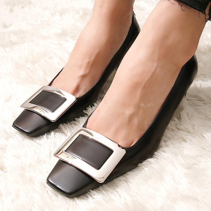 RVW00600920BSS <br> Belle Viebie浅口式鞋山(BK)