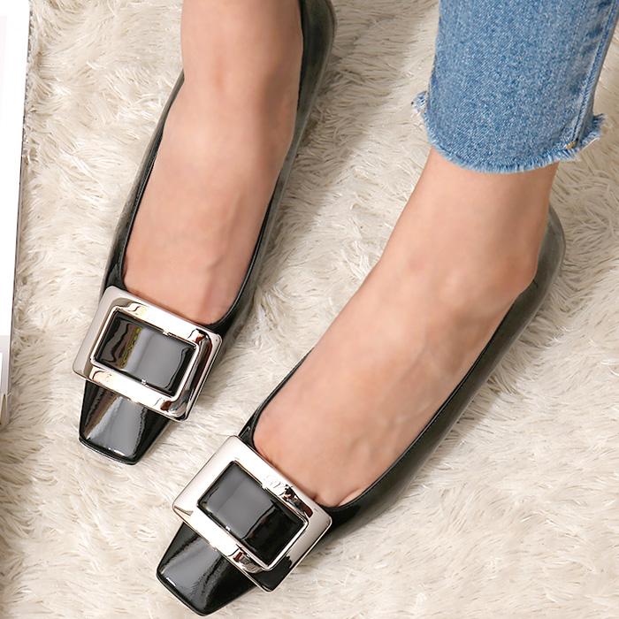 RVW00600920D1P <br> Belle Viebie浅口式鞋山(BK)