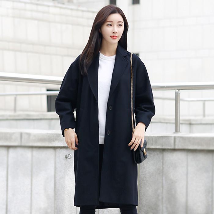 MA0358 18A003E <br> CODY羊毛呢子大衣(BK)