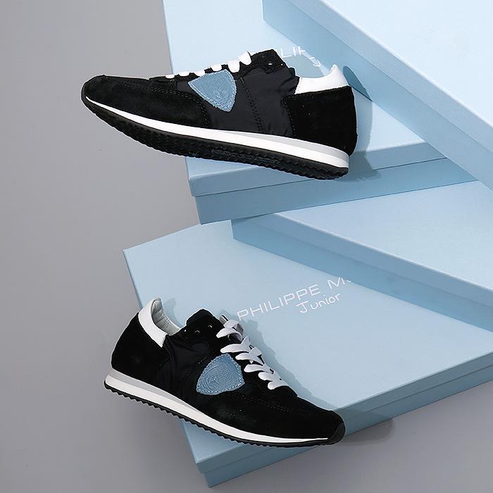 TRL0 T18A <br>儿童Tropez跑鞋(BK)