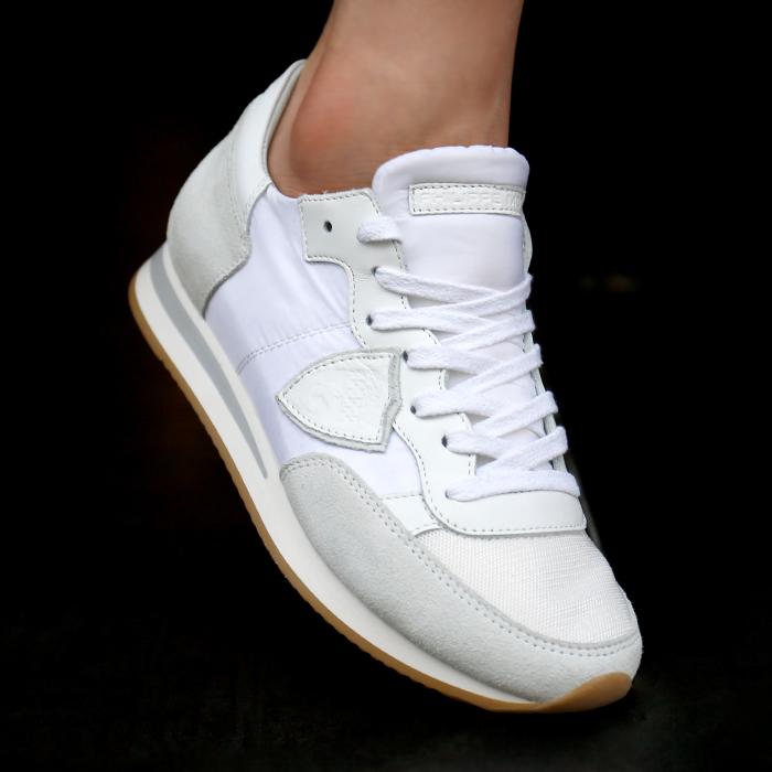 19SS TRLD 1101 <BR> Tropez女式跑鞋(WH)