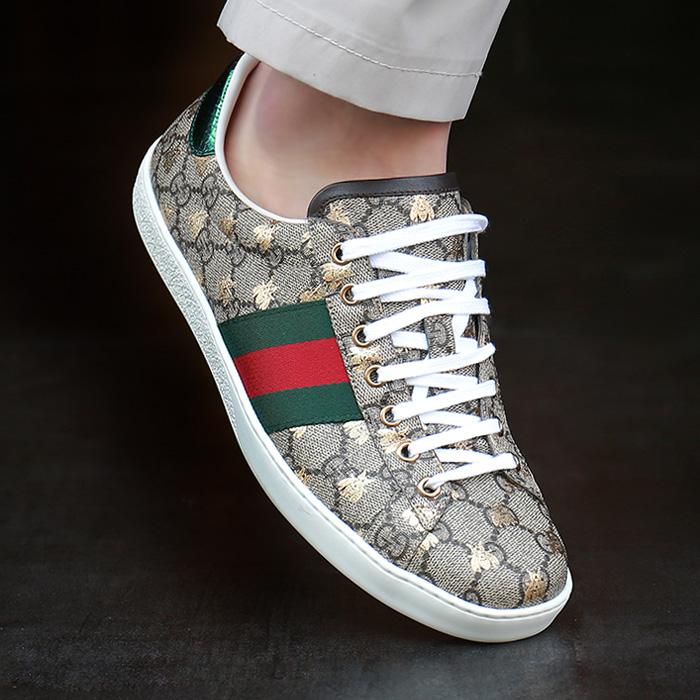 19SS 548950 9N020 8465 <br> Supreme ACE金底底帆布鞋(BE)