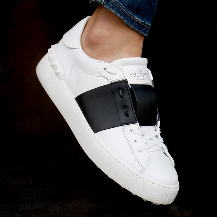19SS RW2S0781.BLU A01 <BR>黑色隐形女式运动鞋(BK)