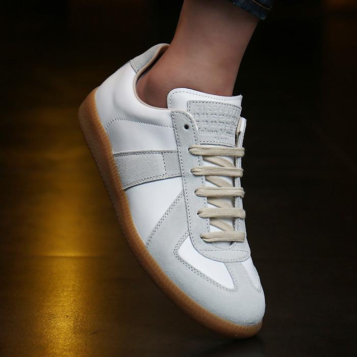 19FW S58WS0109 <BR> Margiela德国女士运动鞋(WH)