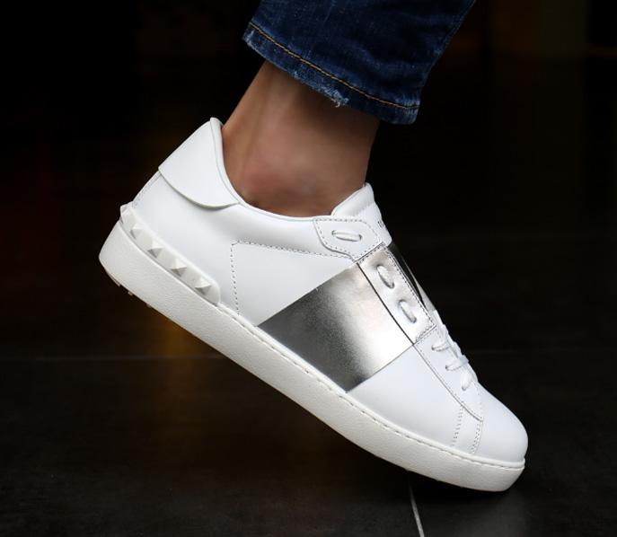 19FW SY2S0830.FLR 857 <br>银色隐藏胶底帆布鞋(SV)