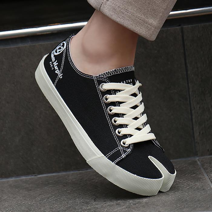 20FW S58WS0110 P1875 <BR>塔比匡威女人胶底帆布鞋(BK)