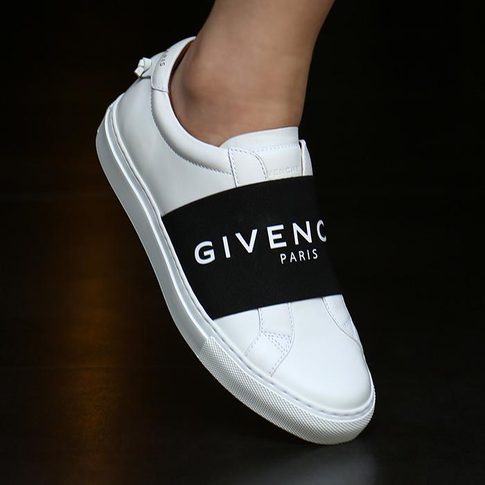 20FW BE0005E0DD 116 <BR>弹性绑腿女士运动鞋(WH)